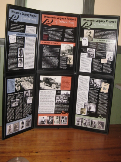 Womens Legacy Project Traveling Exhibit