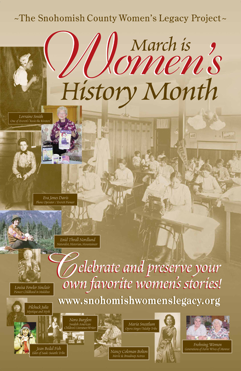 Womens History Month poster