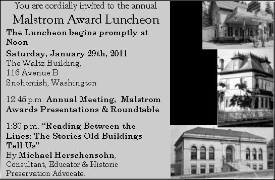 Malstrom Invitation Program Schedule